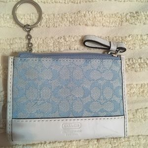 Coach mini ID case